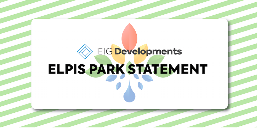 Elpis Park Statement